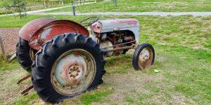 Traktor i Ål