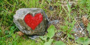 Stein med hjerte