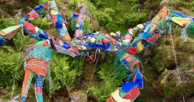 Kunstkrabbe i Averøy