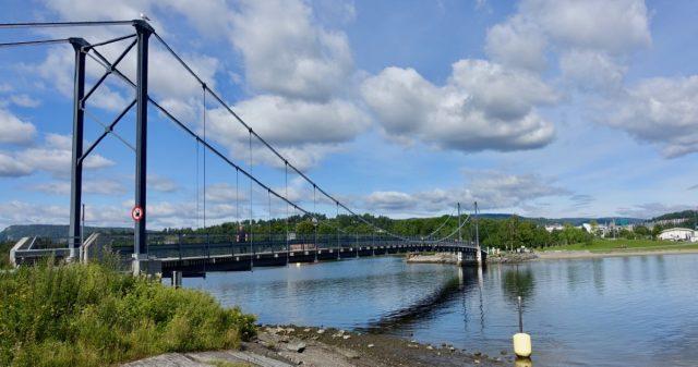 Bro til Kalvøya i Bærum