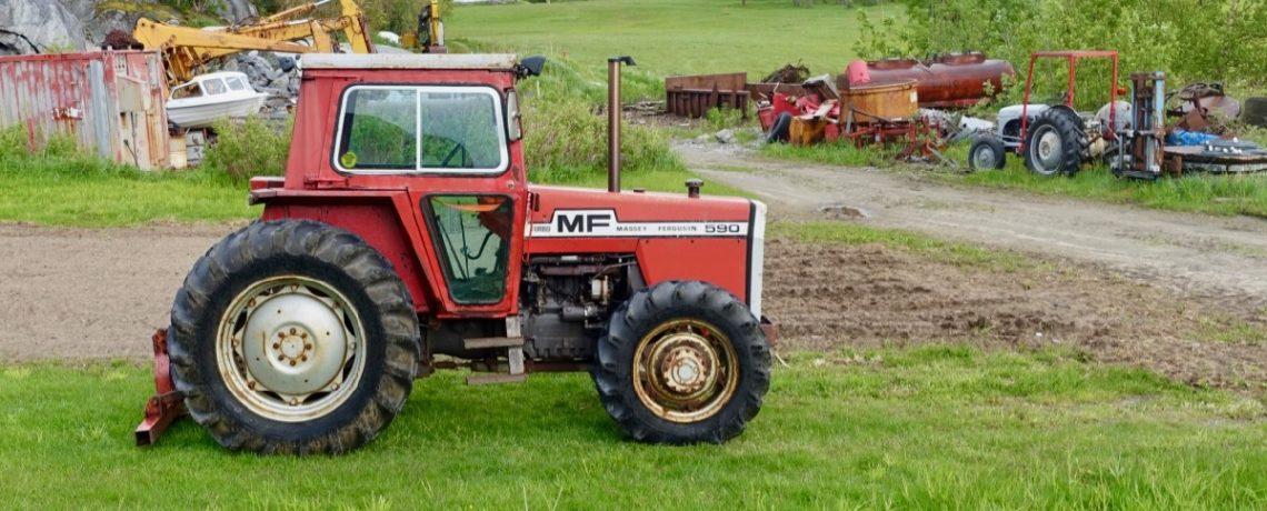 Beiarn – Granitt og traktorer