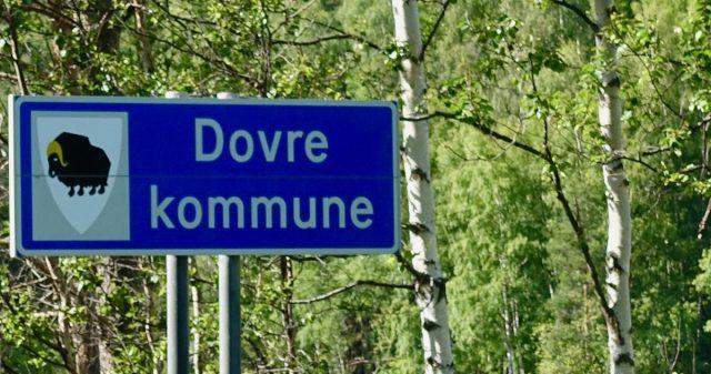 Kommuneskilt Dovre kommune