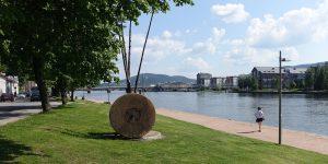Utsikt over Drammens Elva