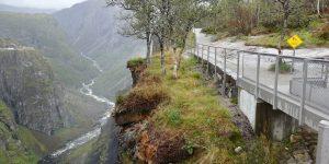 Gangvei ved Vøringsfossen