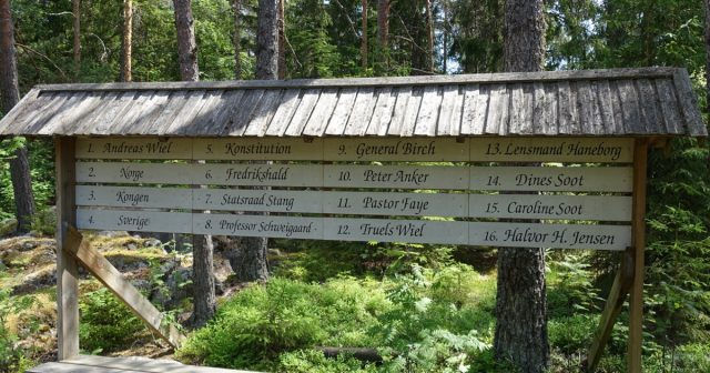 Navn på alle slusene i Sootkanalen