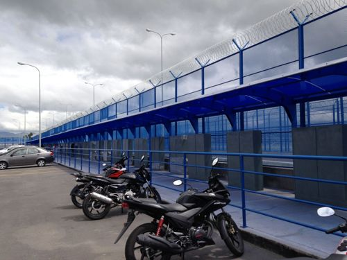 Gjerdet omkring Quitos fengsel
