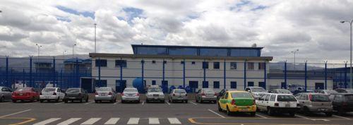 Noen av bygningene på fengselet ved Latacunga