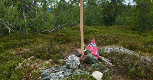 Flagg for toppturer i Nordre Land