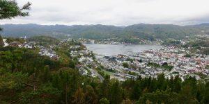 Utsikt mot Flekkefjord
