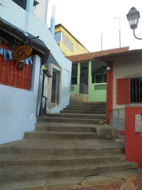 La Pena i bydelen Santa Ana i Guayaquil
