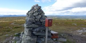 Toppen på Hærfjellet