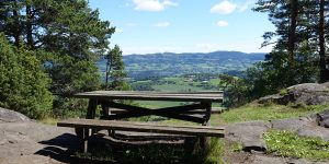 Utsikt over Hadeland