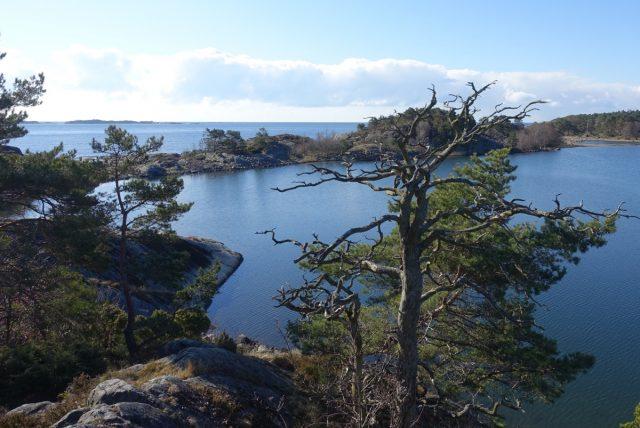 Utsikt ved Haslertangen i Grimstad