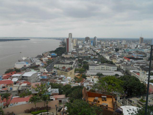 Utsikt over Guayaquil fra Santa Ana