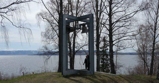 Klokketårnet på Domkirkeodden i Hamar.