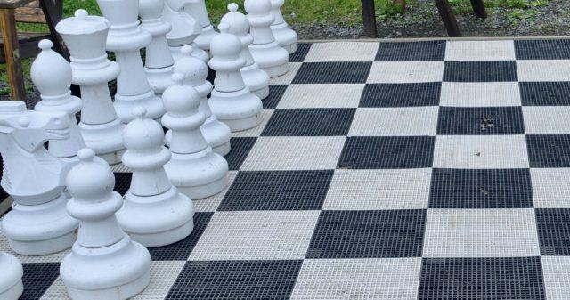 Utendørs sjakk