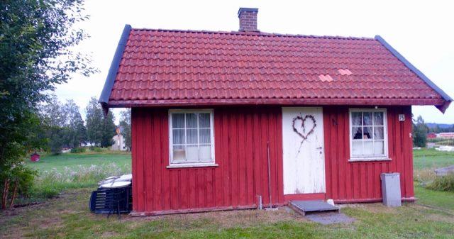 Lite rødt hus
