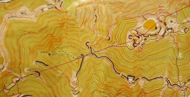 Kartet ned fra Lugard Road og Victoria Peak