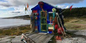 Ocean Hope søppelhus på Hvaler