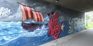 Grafitti i Kongsvinger