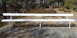 Lang benk i Kragerø