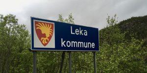 Kommuneskilt Leka