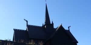 Kirketårn fra Maihaugen