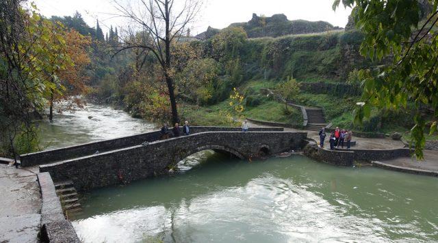 Broen over Ribnica i Podgorica, Monetenegro.