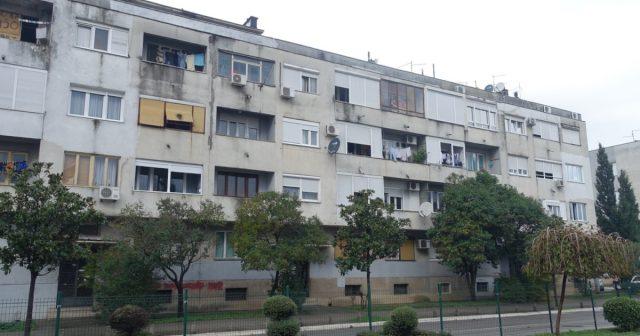 Boligblokkene i sentrum av Podgorica minner fortsatt om kommunisttiden.