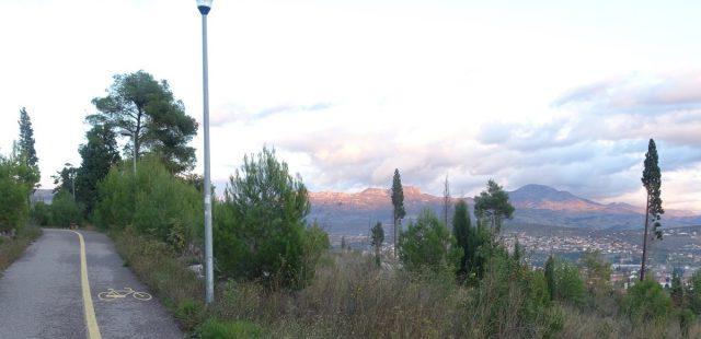 Park utenfor Podgorica.