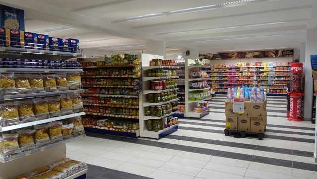 Supermarked i Podgorica.
