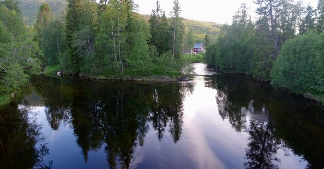 Elva Namsen i Namsskogan