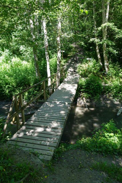 Bro i ravinedalen i Nannested