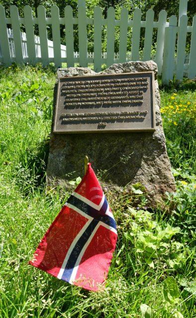 Minnelund for flyulykke i Nannestad
