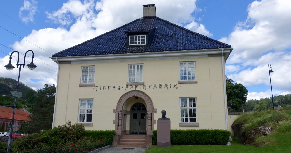 Gammelt hus i Notodden