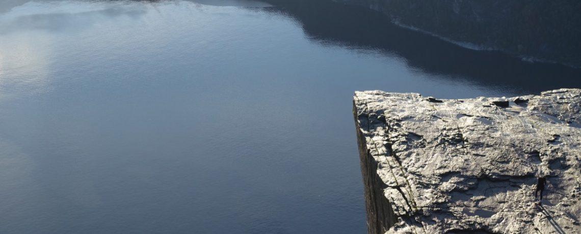 Preikestolen er et høydepunkt i tur-Norge