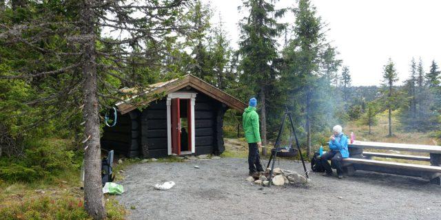 Rasteplass ved Sjusjøen i Ringsaker