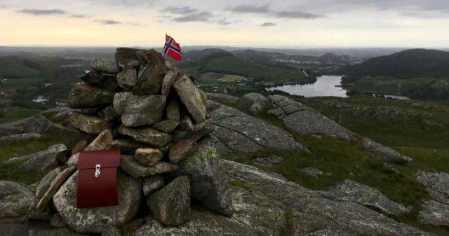 Utsikt fra Krossfjell