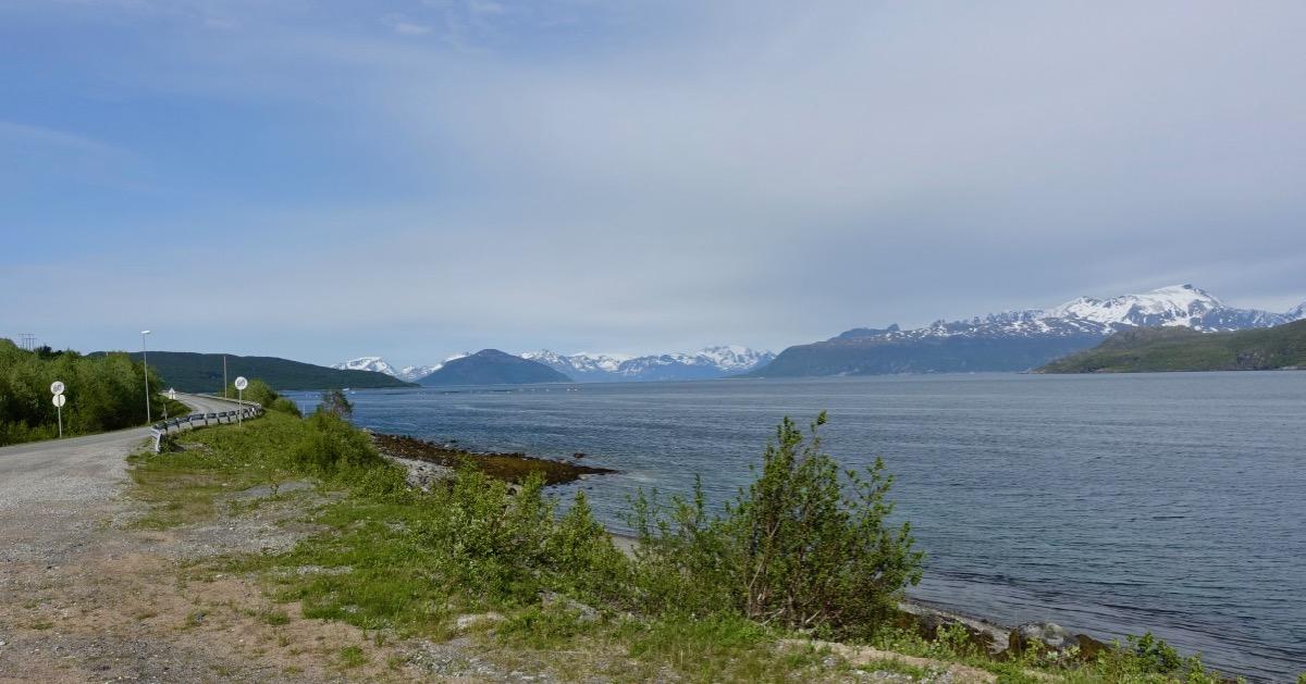 Utsikt i Skjervøy