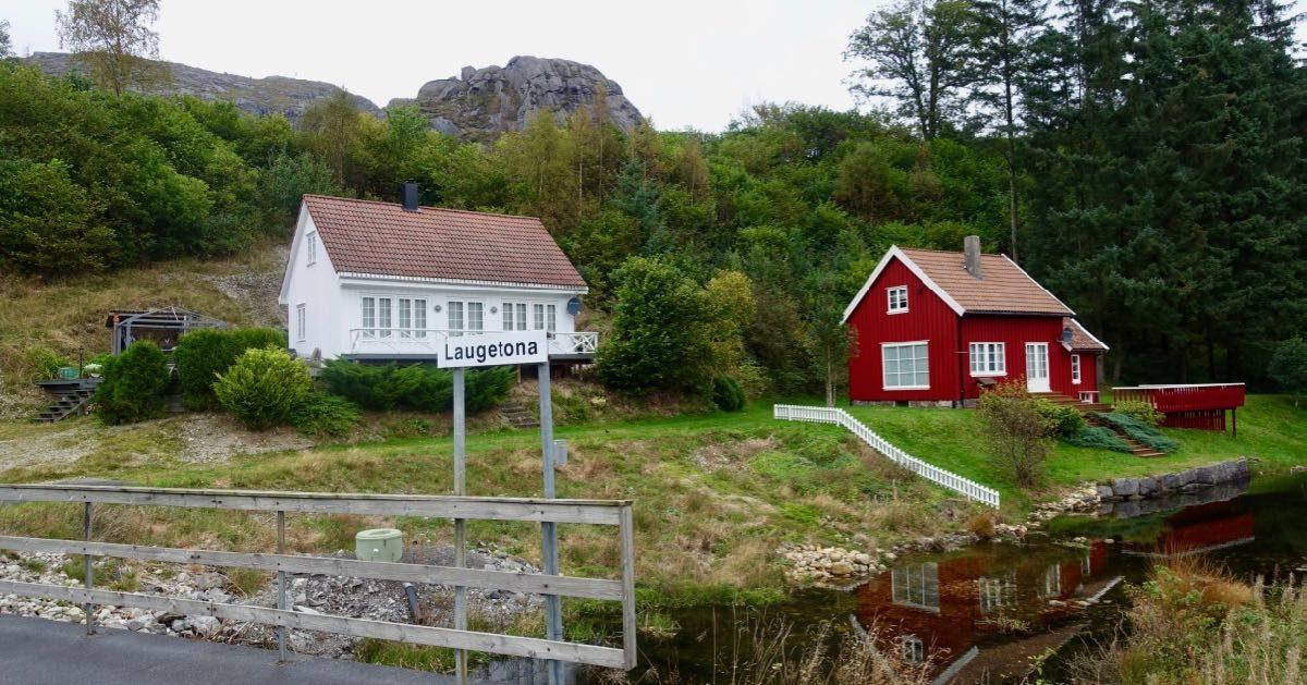 Små hus i Sokndal