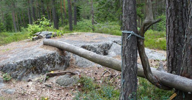 Naturlig rasteplass på pilegrumsleden i Sørum