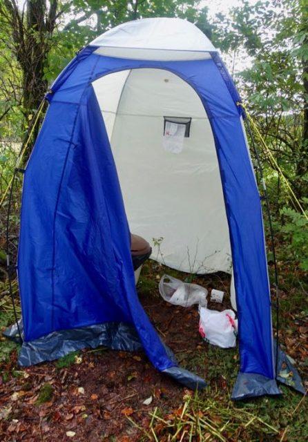 Toalett-telt