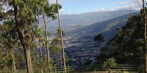Utsikt Quito Ecuador