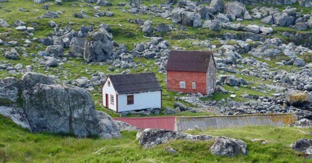 Hus på Utsira