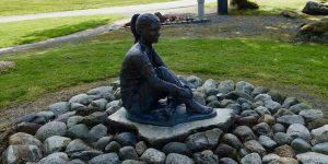 Statue i Vindafjord