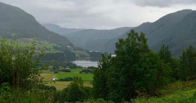Litt utsikt i Voss