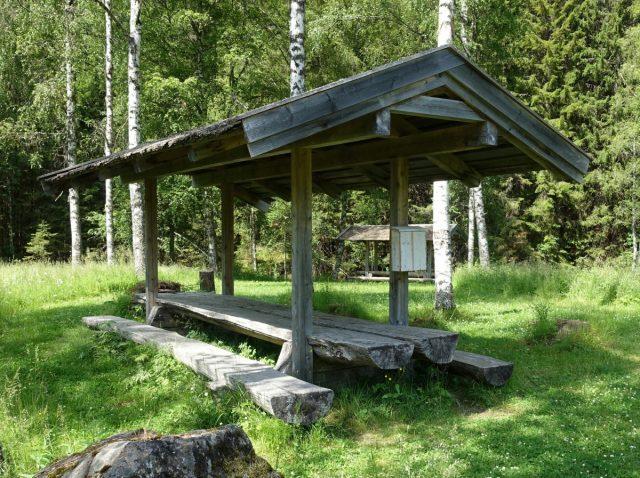 Rasteplass ved Sootkanalen i Eidskog