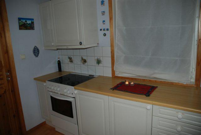 Kjøkken i hus til salgs.